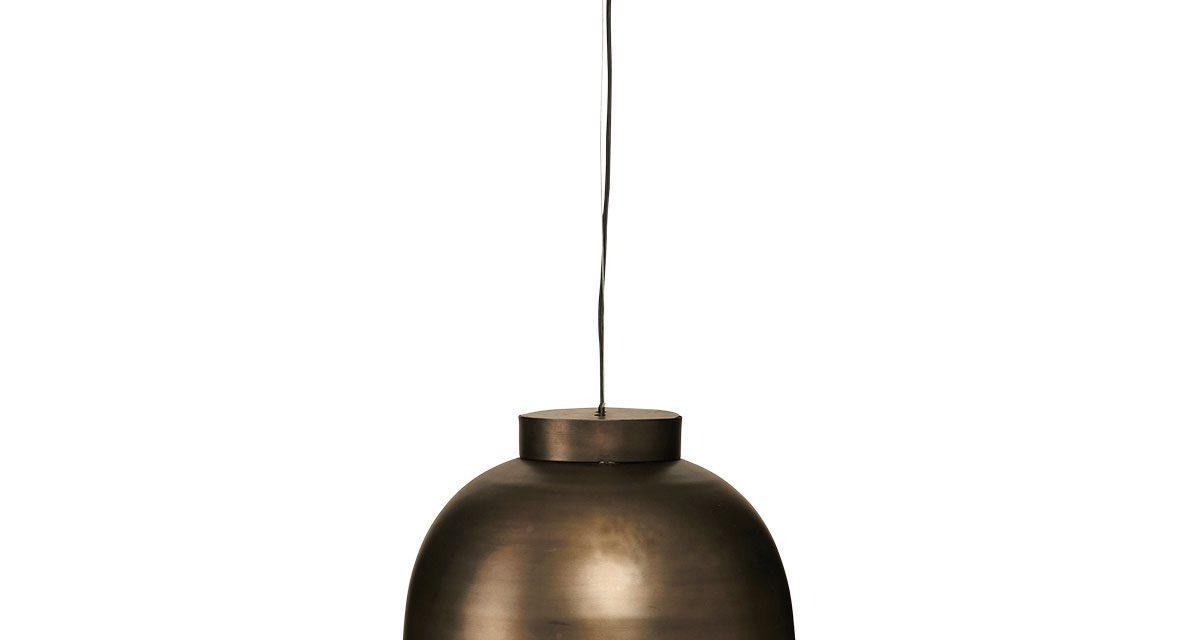 HOUSE DOCTOR loftslampe, Bowl, gunmetal