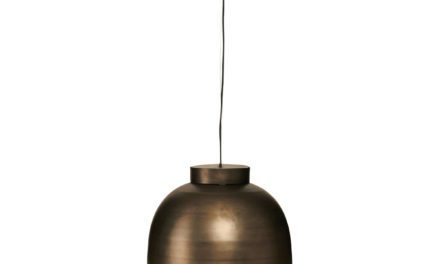 HOUSE DOCTOR loftslampe, Bowl, gunmetal