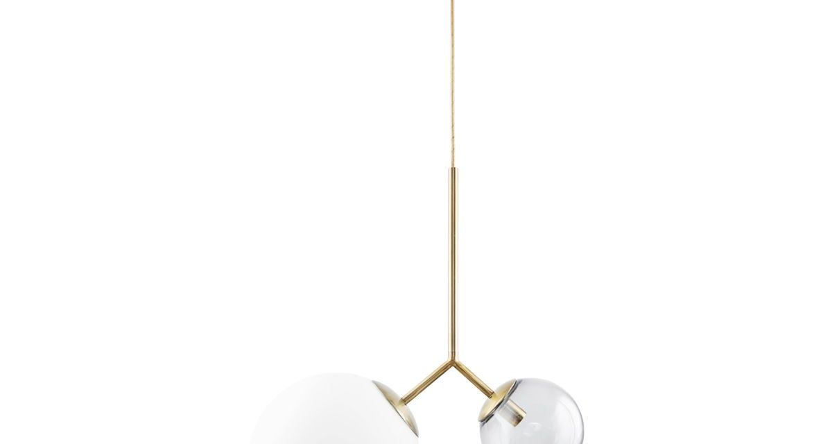 HOUSE DOCTOR Lampe Twis Hvid/Grå