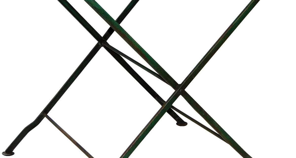 TRADEMARK LIVING Cafébord i klassisk stil – flaskegrøn