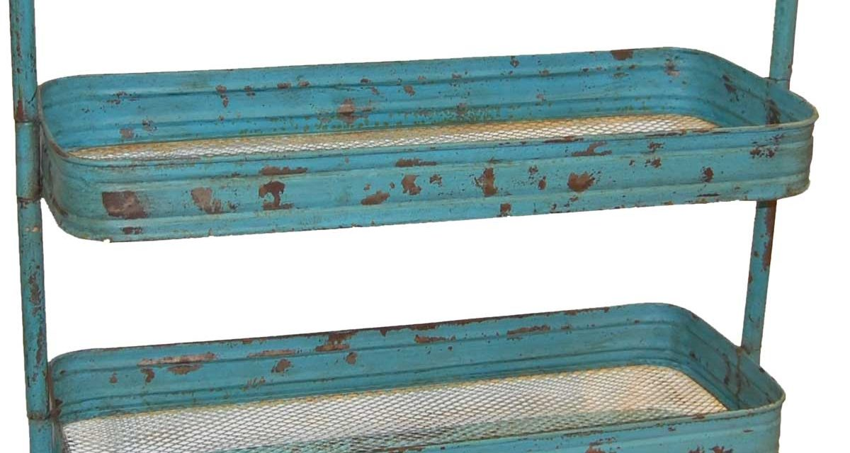 TRADEMARK LIVING Rullebord – blå