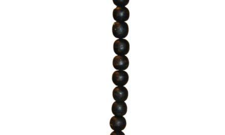 TRADEMARK LIVING hængelampe i træ – antiksort