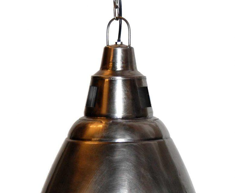 TRADEMARK LIVING Cool stor loftpendel – shiny