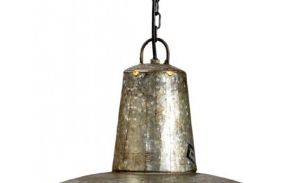 TRADEMARK LIVING Loftpendel – galvaniseret jern