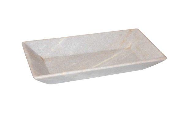 TRADEMARK LIVING Skønt fad i smuk marmor
