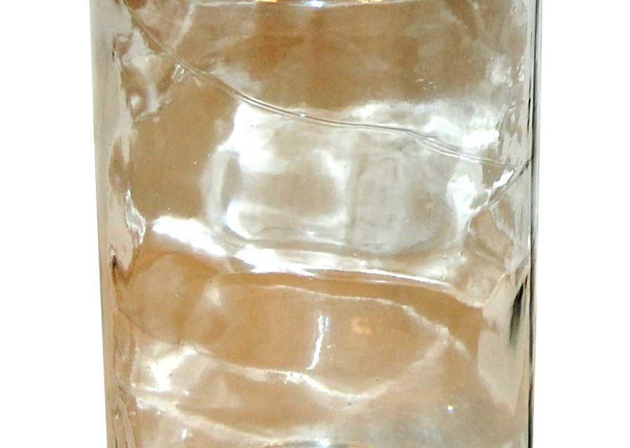 TRADEMARK LIVING Glaskrukke med låg – large