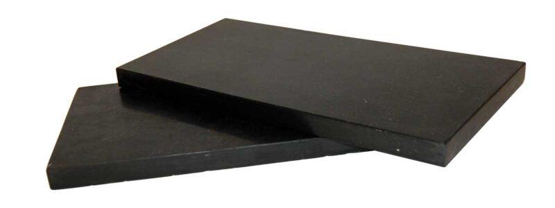 TRADEMARK LIVING Skærebræt i sort sten – large