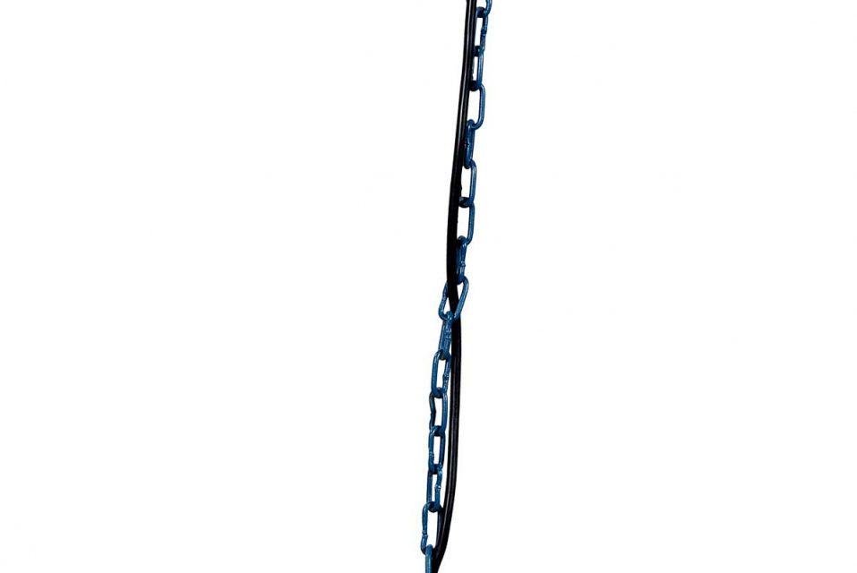 TRADEMARK LIVING Loftlampe med trendy udtryk – blå