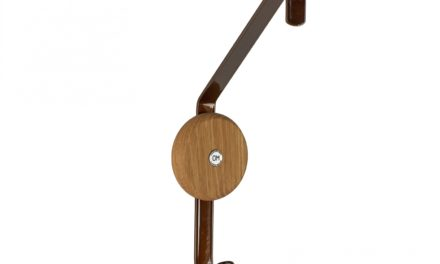 FURBO Ewo – dobbeltkrog i rustlook stål og træ