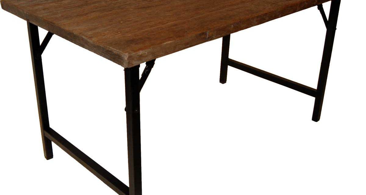 TRADEMARK LIVING Spisebord med smuk bordplade