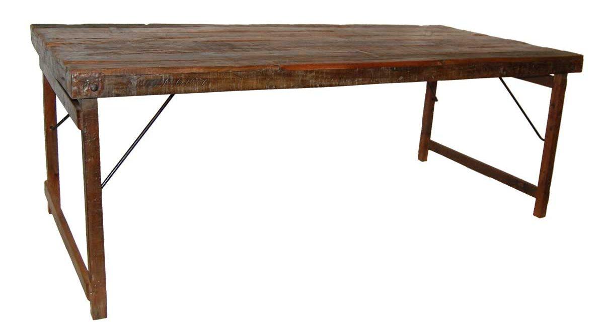 TRADEMARK LIVING Spisebord – gammel