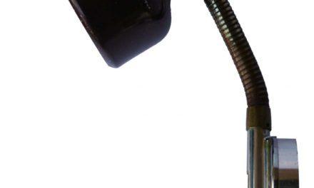 TRADEMARK LIVING Gammel retro væglampe – brun