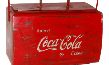 TRADEMARK LIVING Coca Cola køleboks – gammel vintage