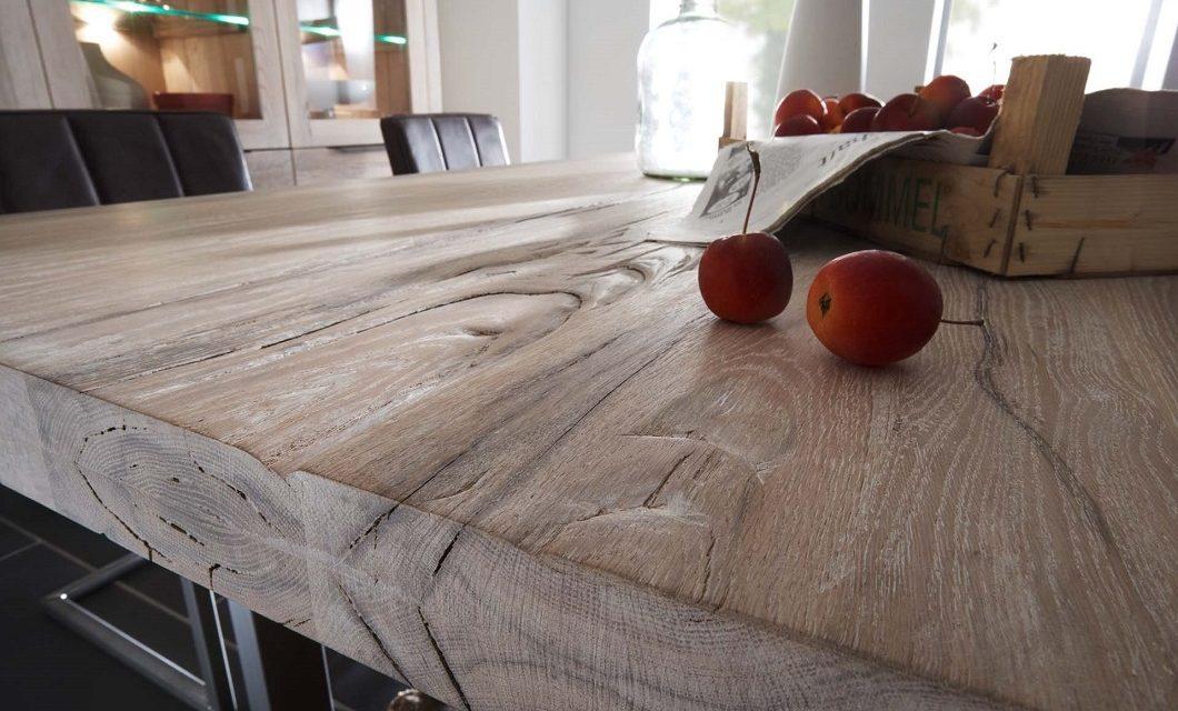 BODAHL Valentino plankebord 260 x 110 cm 03 = white wash