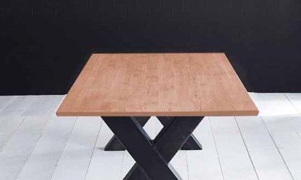 Concept 4 You Plankebord – Schweizerkant med Freja-ben, m. udtræk 3 cm 180 x 100 cm 03 = white wash