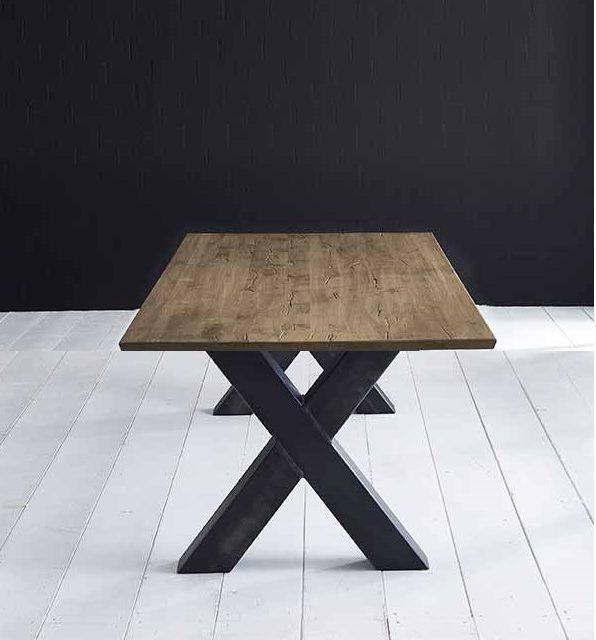 Concept 4 You Plankebord – Schweizerkant med Freja-ben, m. udtræk 3 cm 220 x 100 cm 04 = desert
