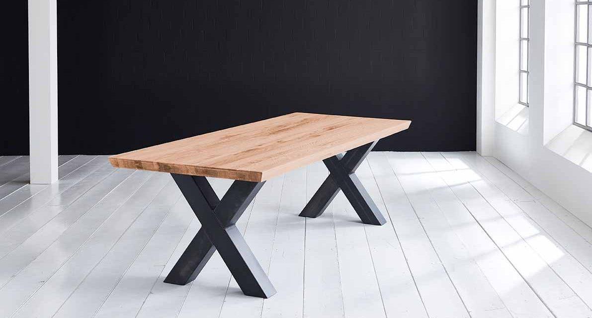 Concept 4 You Plankebord – Schweizerkant med Freja-ben, m. udtræk 6 cm 280 x 100 cm 06 = old bassano