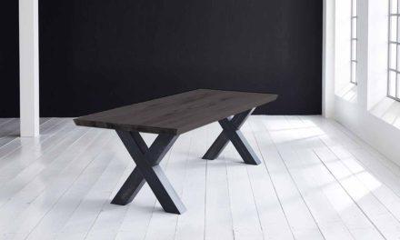 Concept 4 You Plankebord – Schweizerkant med Freja-ben, m. udtræk 3 cm 240 x 100 cm 07 = mocca black