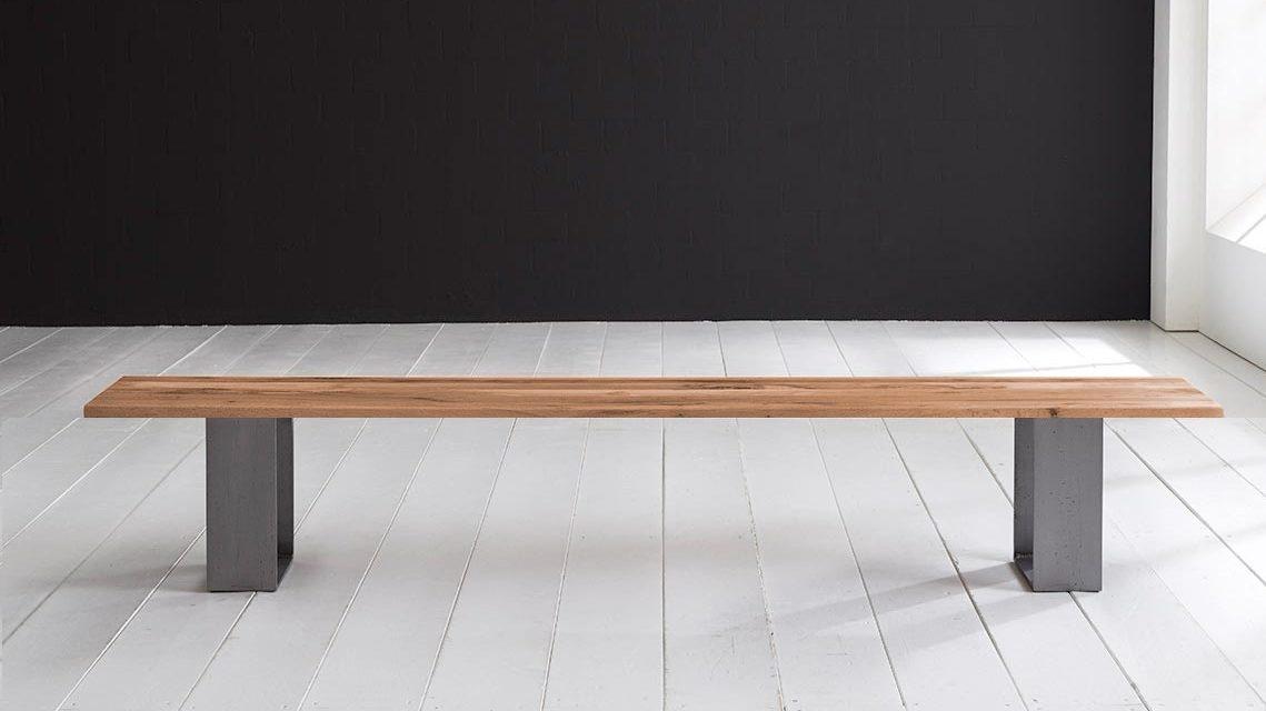 Concept 4 You Spisebordsbænk – Houston ben 200 x 40 cm 3 cm 01 = olie