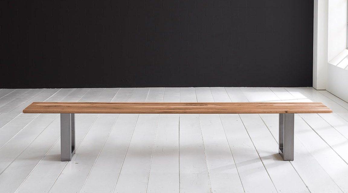 Concept 4 You Spisebordsbænk – Manhattan ben 220 x 40 cm 3 cm 01 = olie