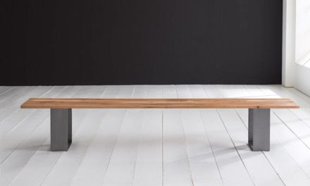Concept 4 You Spisebordsbænk – Houston ben 180 x 40 cm 3 cm 01 = olie