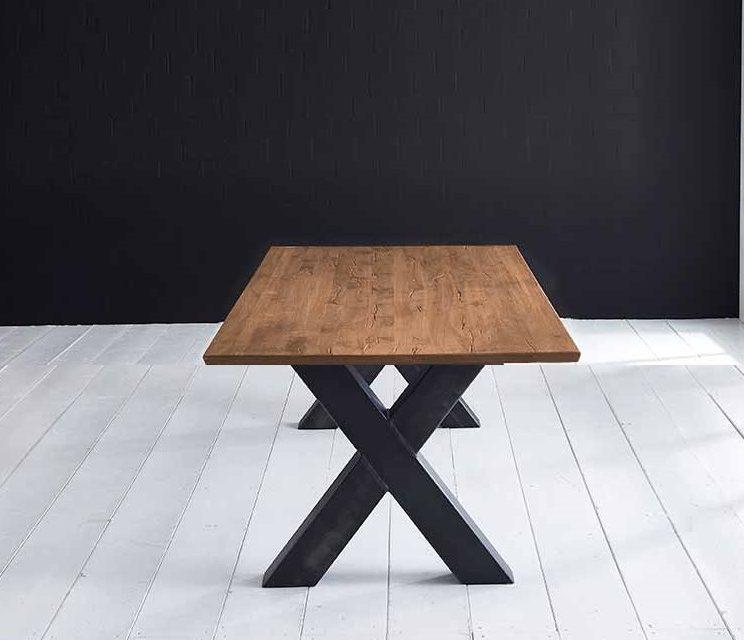 Concept 4 You Plankebord – Schweizerkant med Freja-ben, m. udtræk 3 cm 220 x 100 cm 01 = olie