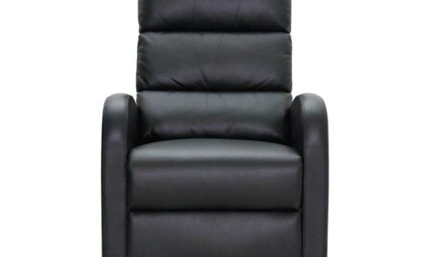 HAGA Berlin recliner lænestol – Sort læder