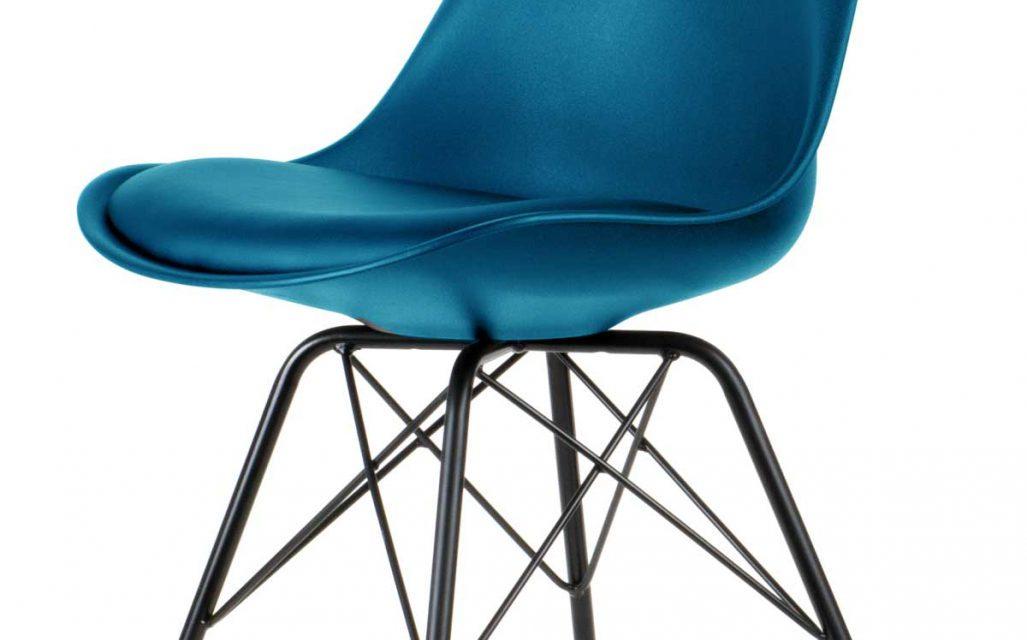 Comfort spisebordsstol, Petrol Blå