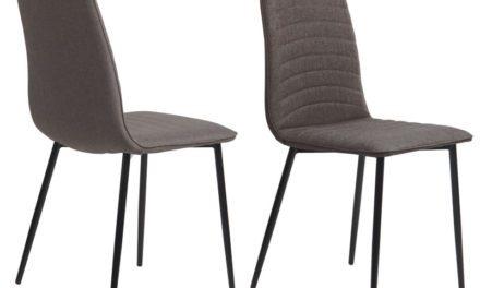 Så er det nu – Tidsløs Lisa grå spisebordsstol fra Preform