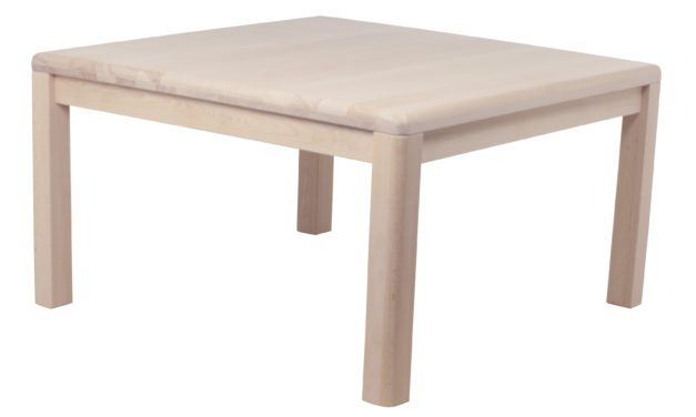 Lina sofabord, massivt bøg – kvadratisk