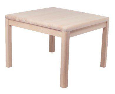 Lina hjørnebord, massivt bøg – kvadratisk
