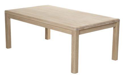 Lina sofabord, massiv eg – rektangulær
