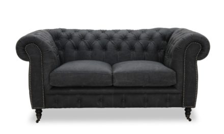 Cambridge 2 pers sofa – Sort
