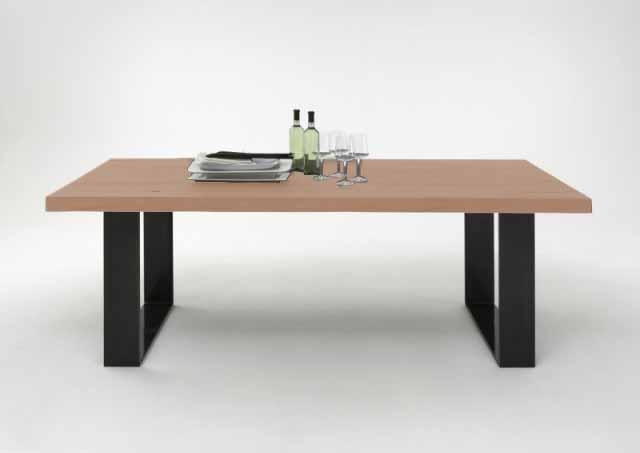 BODAHL Texas spisebord – sæbebehandlet egetræ, plankebord 260 x 110 cm