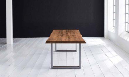 Concept 4 You Plankebord – Barkkant Eg med Manhattan ben, m. udtræk 6 cm 180 x 110 cm 06 = old bassano