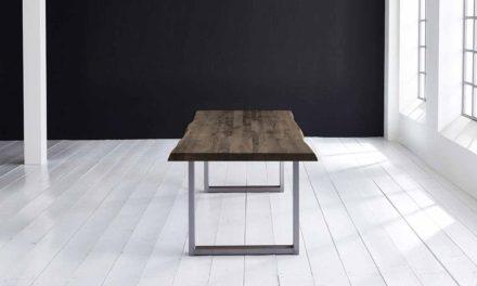 Concept 4 You Plankebord – Barkkant Eg med Manhattan ben, m. udtræk 6 cm 240 x 110 cm 02 = smoked