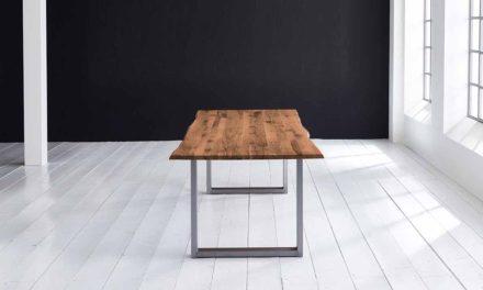 Concept 4 You Plankebord – Barkkant Eg med Manhattan ben, m. udtræk 3 cm 260 x 100 cm 06 = old bassano