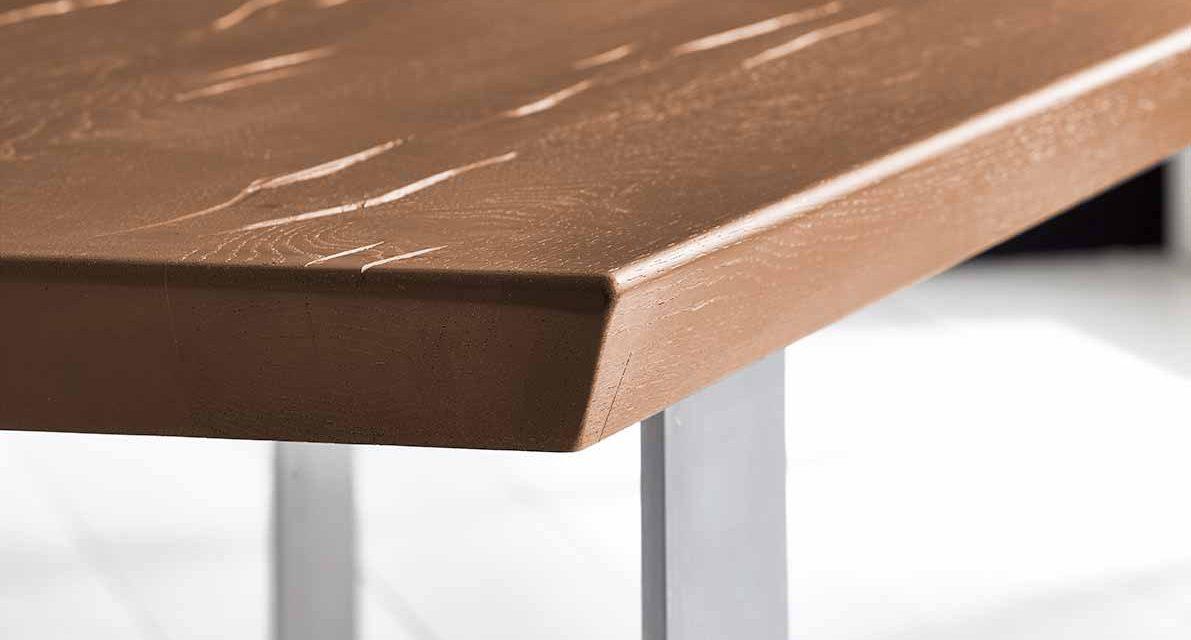 Concept 4 You Plankebord – Schweizerkant med Houston ben, m. udtræk 6 cm 280 x 100 cm 01 = olie