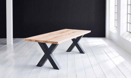 Concept 4 You Plankebord – Schweizerkant med Freja-ben, m. udtræk 6 cm 300 x 110 cm. 01 = olie