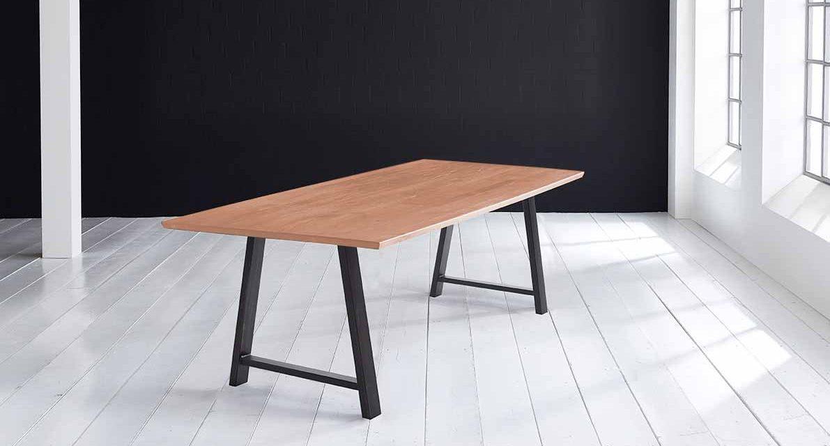 Concept 4 You Plankebord – Schweizerkant med Halo Ben, m. udtræk 3 cm 240 x 100 cm 03 = white wash