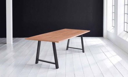 Concept 4 You Plankebord – Schweizerkant med Halo Ben, m. udtræk 3 cm 260 x 100 cm 03 = white wash