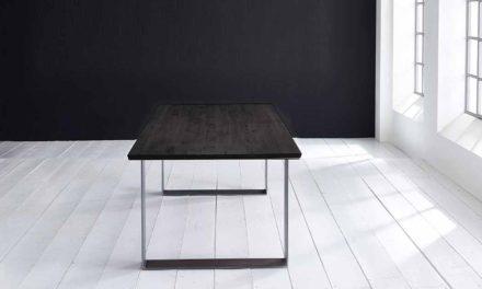 Concept 4 You Plankebord – Schweizerkant med Houston ben, m. udtræk 3 cm 180 x 100 cm 07 = mocca black