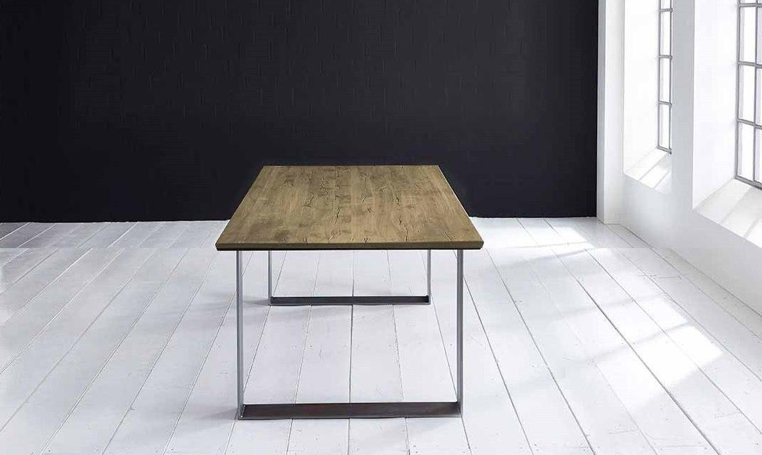 Concept 4 You Plankebord – Schweizerkant med Houston ben, m. udtræk 3 cm 220 x 100 cm 05 = sand