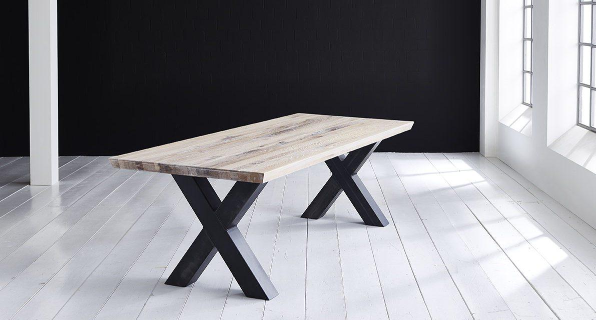 Concept 4 You Plankebord – Schweizerkant med Freja-ben, m. udtræk 6 cm 280 x 100 cm 05 = sand