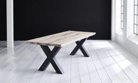 Concept 4 You Plankebord – Schweizerkant med Freja-ben, m. udtræk 6 cm 240 x 100 cm 05 = sand