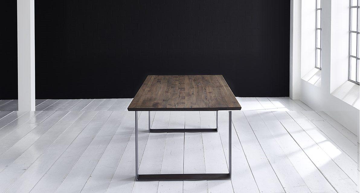 Concept 4 You Plankebord – Schweizerkant med Houston ben, m. udtræk 3 cm 200 x 100 cm 02 = smoked