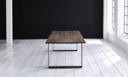 Concept 4 You Plankebord – Schweizerkant med Houston ben, m. udtræk 3 cm 240 x 100 cm 02 = smoked