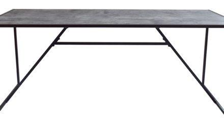 Mexico spisebord – grå betonlook