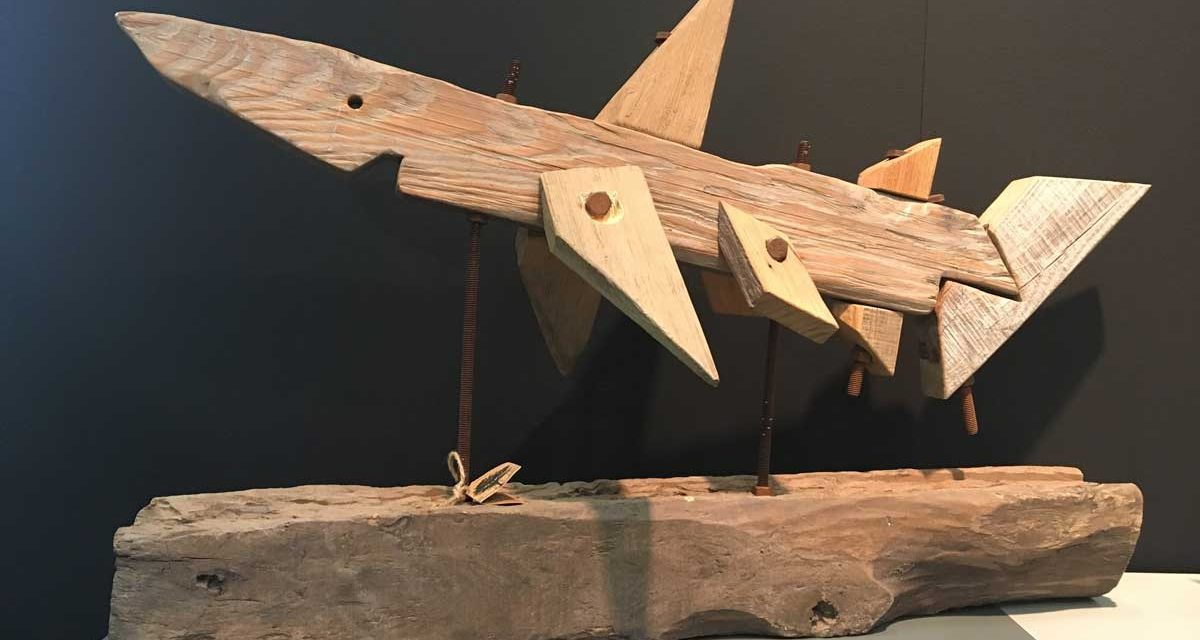 Woody Haj træskulptur