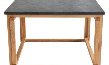 Accent granit sofabord, 75×75